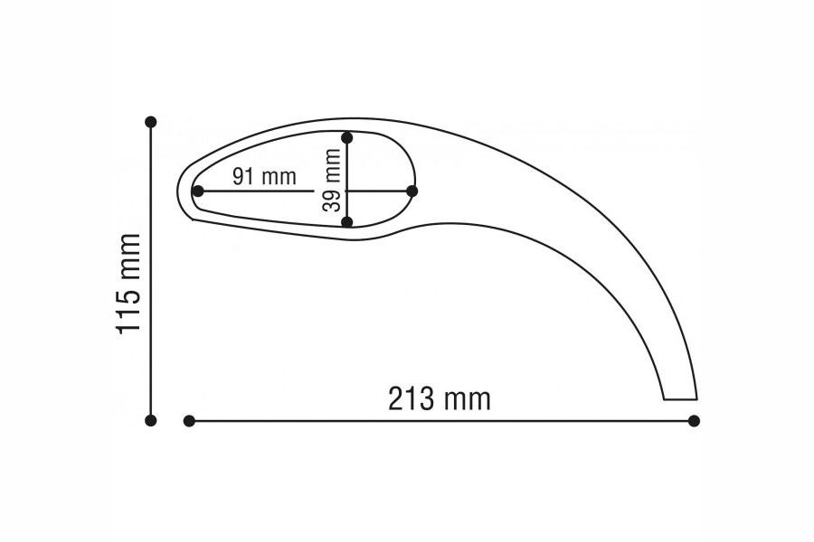 3D Aluspiegel-RU 001107L