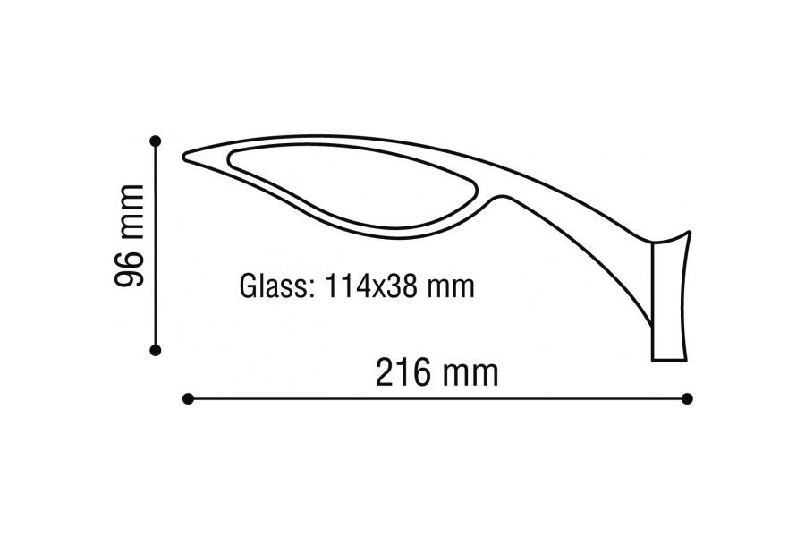 3D Aluspiegel-RU 001104N