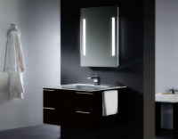 Bathroom Vanity Set With Lighted Mirrors : Furniture Ideas