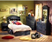 Full Gray Bed Set For Teenage Boys : Furniture Ideas ...
