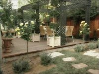 French Country Style Backyard : Furniture Ideas ...