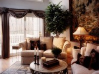 Traditional Living Room Old World Tapestry : Furniture ...