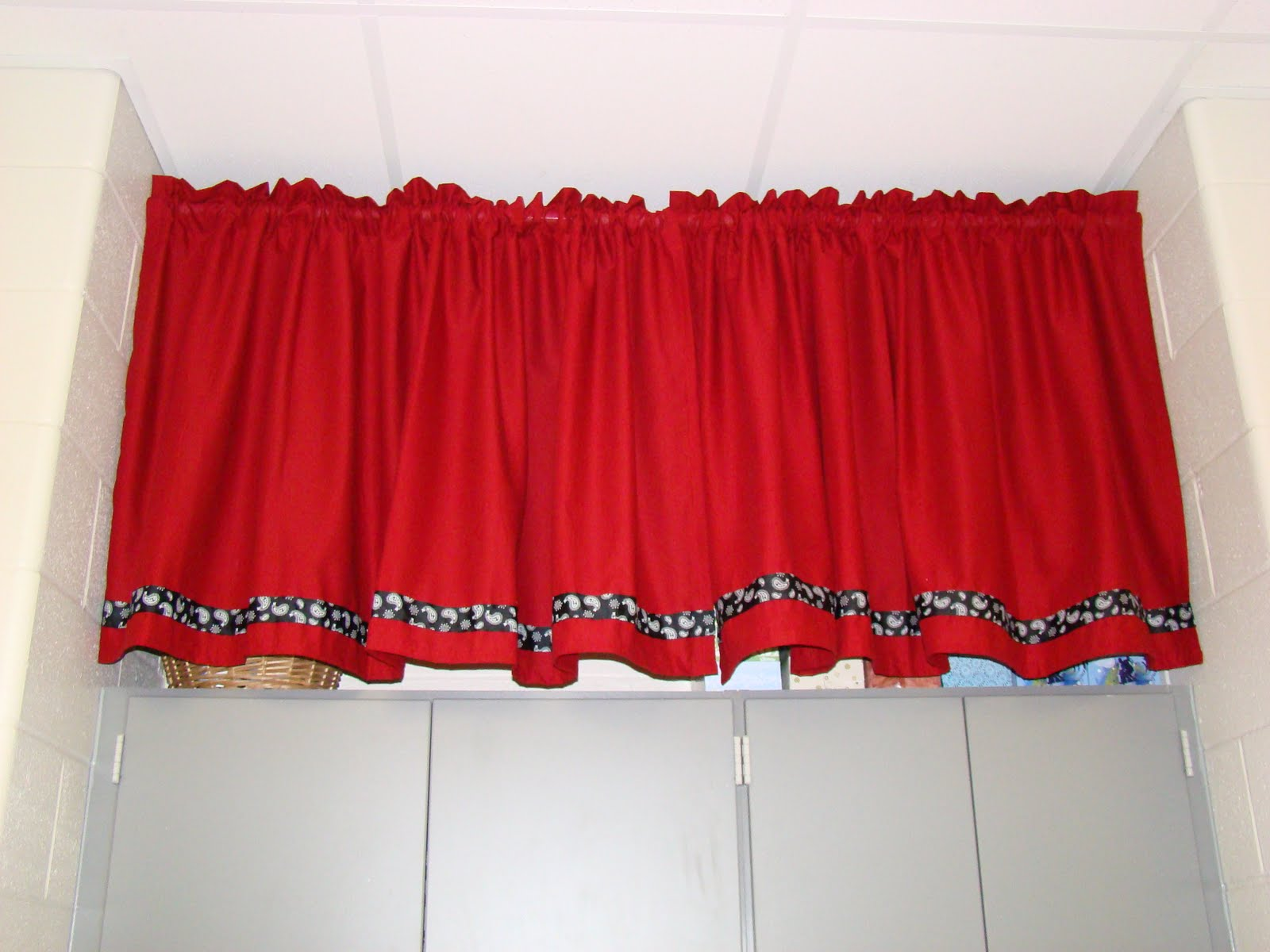 classroom curtain ideas