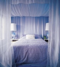Canopy curtains for bed : Furniture Ideas | DeltaAngelGroup
