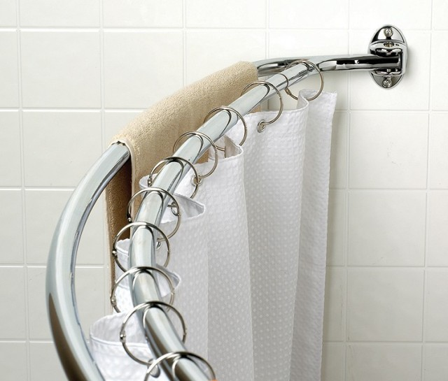 Double Curved Shower Curtain Rod BestCurtains