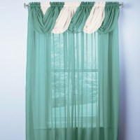 How To Hang A Scarf Valance On Curtain Rod   www ...