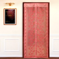 Magnetic screen door curtain : Furniture Ideas