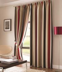 Vertical striped curtains : Furniture Ideas | DeltaAngelGroup