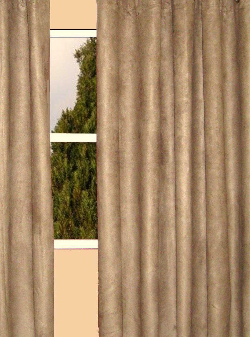 Faux suede curtains  Furniture Ideas  DeltaAngelGroup