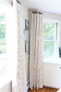 Hanging curtains without a rod : Furniture Ideas ...