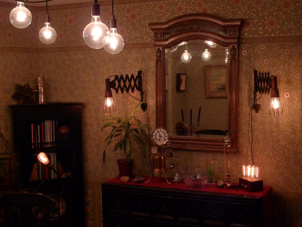 Steampunk room : Furniture Ideas