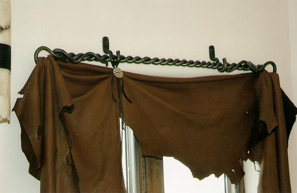 Lovely Western Curtain Rods Furniture Ideas DeltaAngelGroup