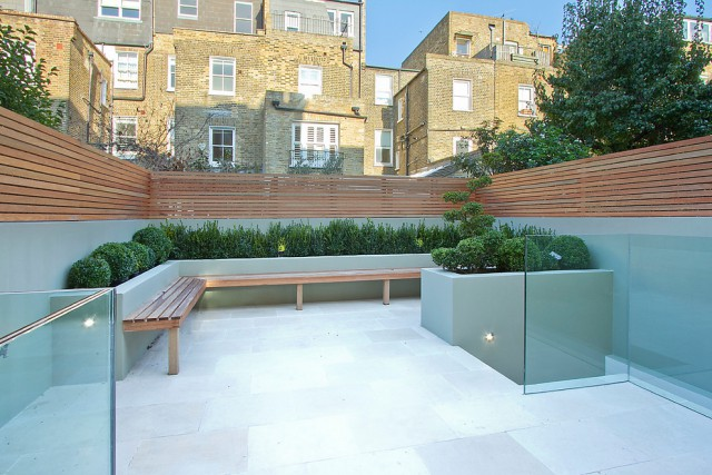 Gorgeous Contemporary Garden Fencing Panels Image Ideas