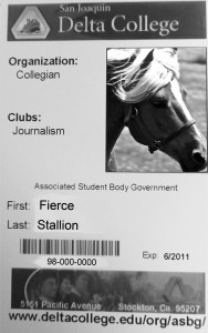 Student identifcation cards are available in the bookstore.