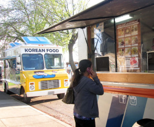 TRUCKS AROUND TOWN: The number of food trucks throughout the area is growing. Not all are  focused on tacos or burritos. Instead, there are trucks that specialize in Korean food and burgers. PHOTO BY ORLANDO JOSE