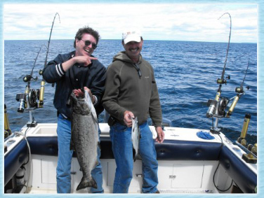 Trout & Salmon Charters , Manistique Michigan Fishing Charters