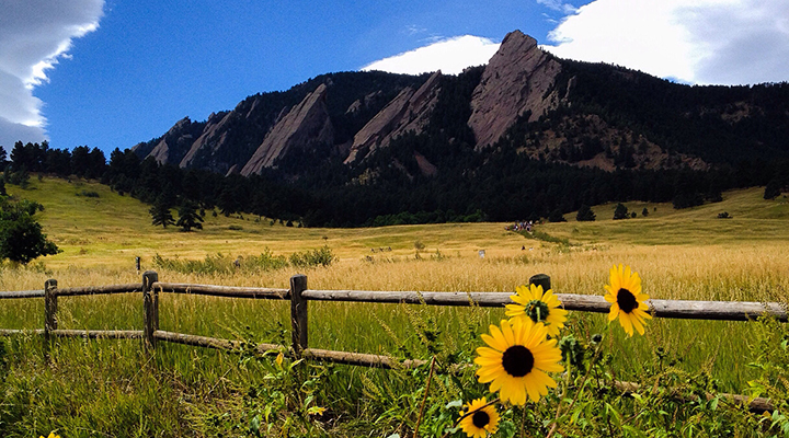 From the Flat Irons to CU, we love being in Boulder!