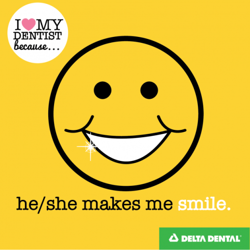 Delta Dental of New Jersey -- Reason 2 - He:She Makes Me Smile