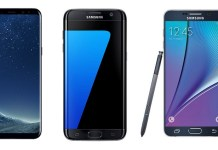 Samsung Galaxy high end phones in Nepal