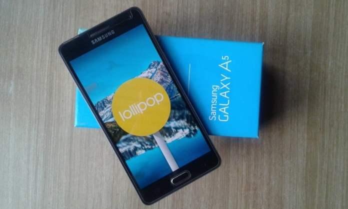 Galaxy A5 Lollipop