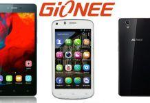 Gionee Pioneer P3S and Gionee F103