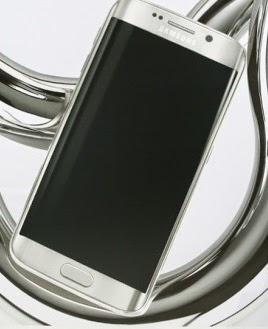 S6 Edge White Pearl Advertisement