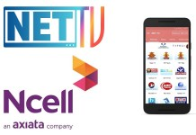 Ncell TV Pack with Net TV