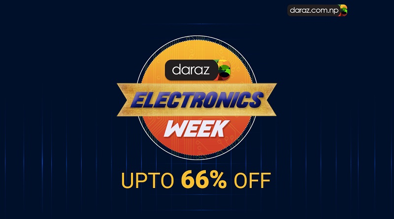Daraz Nepal Electronics Week Sale 2018