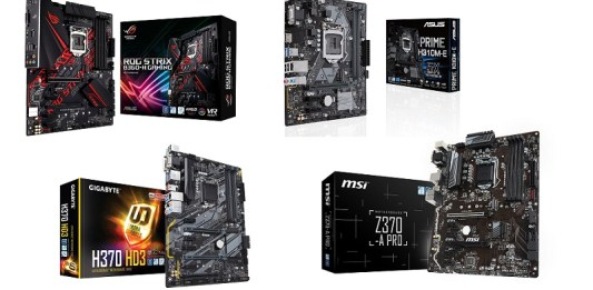 Best budget motherboards for 8th Intel processors