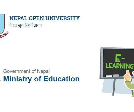 Nepal Open University, online learning in Nepal