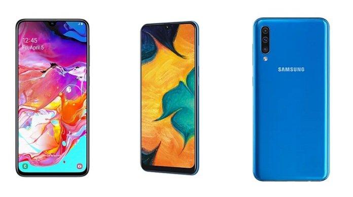 Price of Mid range Samsung mobile