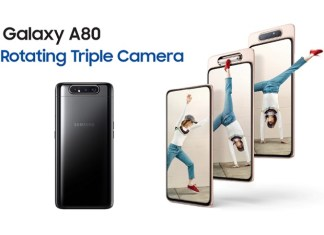 Samsung Galaxy A80 Models