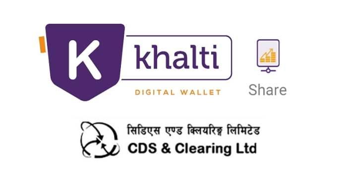 Pay Demat and MeroShare fees using Khalti