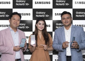 Galaxy Note 10 launch in Nepal