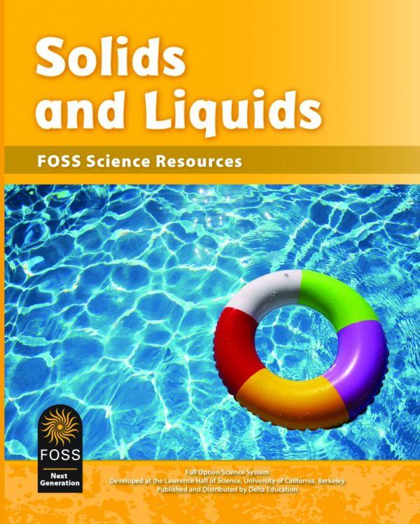 Solids and Liquids Foss Resource Book Next Generation