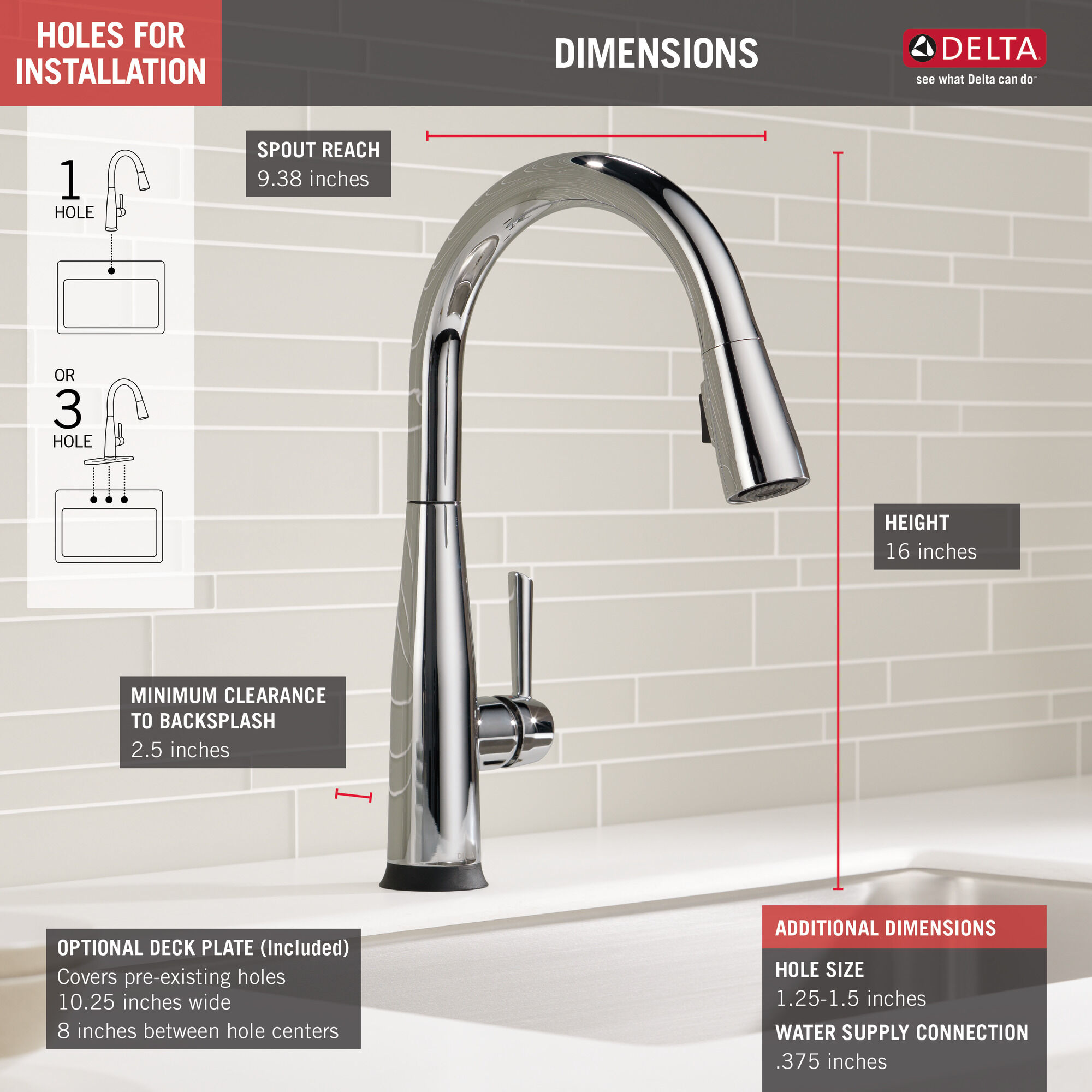 voiceiq single handle pull down faucet with touch20 technology