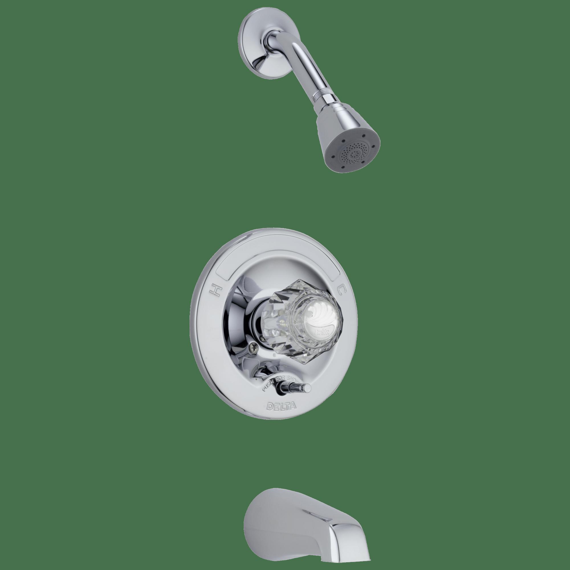 tub shower faucet 636 delta faucet