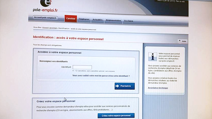 Pole Emploi Fr Espace Personnel Identification l'internet va faciliter la vie des demandeurs d'emploi et des