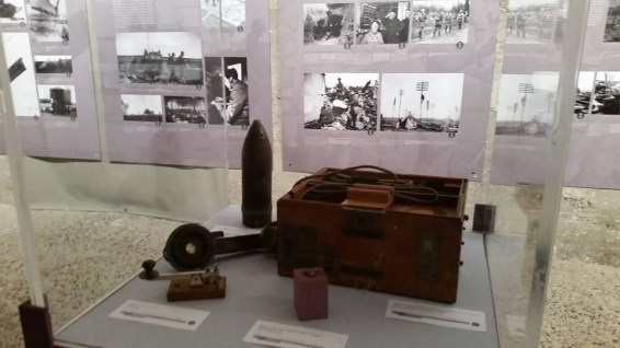"Exposition ""Guerres, sciences et technologies"""