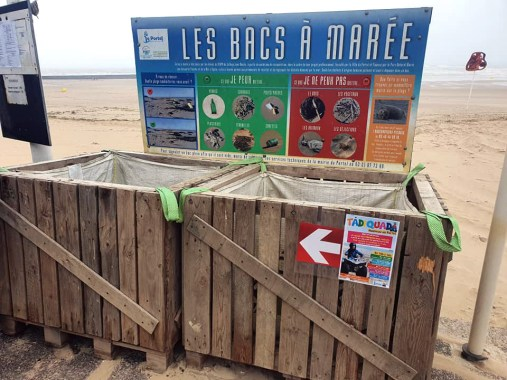 propreté plage portel 2
