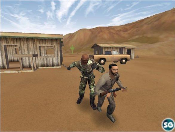Delta force 2 game Mission