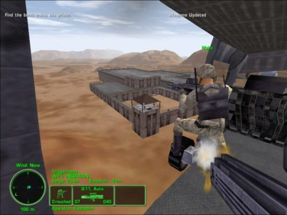 Equipment in Delta Force 3 Game