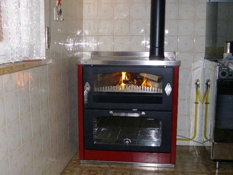 Cucine Con Forno A Legna Ispirazione Per La Casa E L
