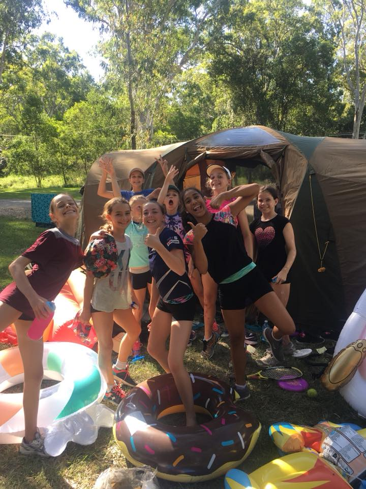 Delta Gymnastics Spirit Camp 2018 at Lake Cootharaba