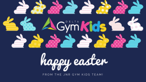 Bunny Theme gymnastic for kids - Delta Gymnastics Brisbane, Gold Coast & Barron Valley