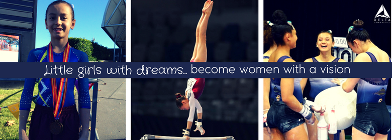 Emi Watterson Gymnast - Little girls with dreams become women with a