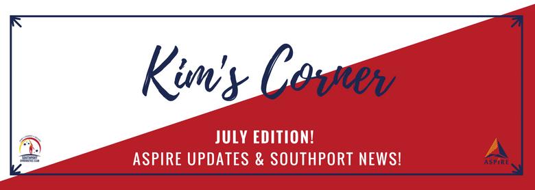 Kim's Corner – July Edition