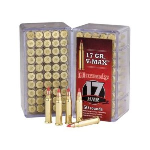 Hornady 17 HMR 17 gr V-MAX Varmint Express – 50 rounds