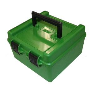 MTM Deluxe 100 Round Rifle Ammo Boxes