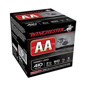 "Winchester 410Ga AA Target #9 2½"" 14gm"